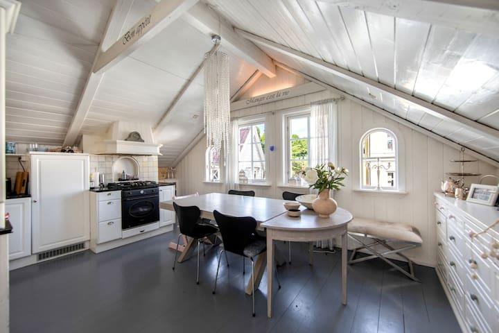 Best location in Bergen - org. townhouse + garden