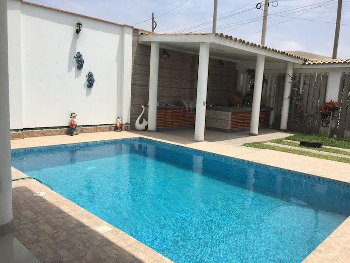 Casa de Campo Sol y Arena🌞🌊🌳