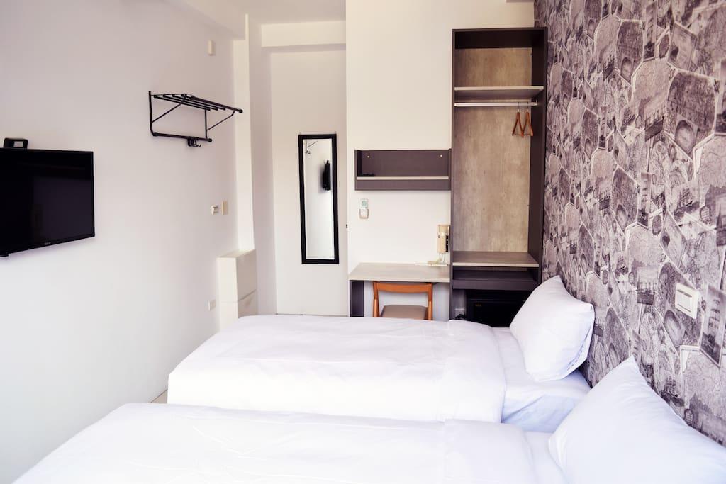 雅致兩床房