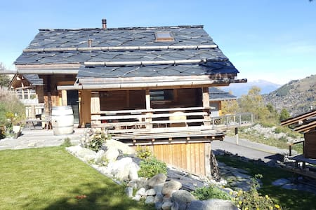 Dream mountain chalet in Nendaz