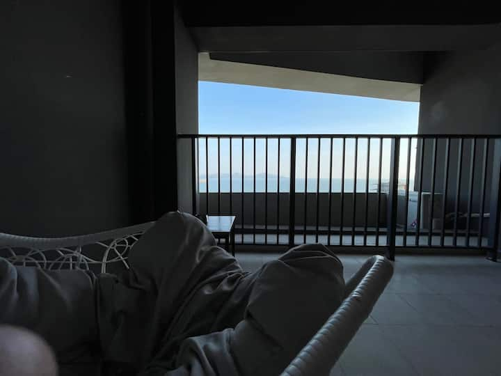 NIHO公寓保利望海高层海景大床房