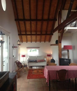 Idyllic countryside farmhouse-loft close to A'dam! - Apartamento