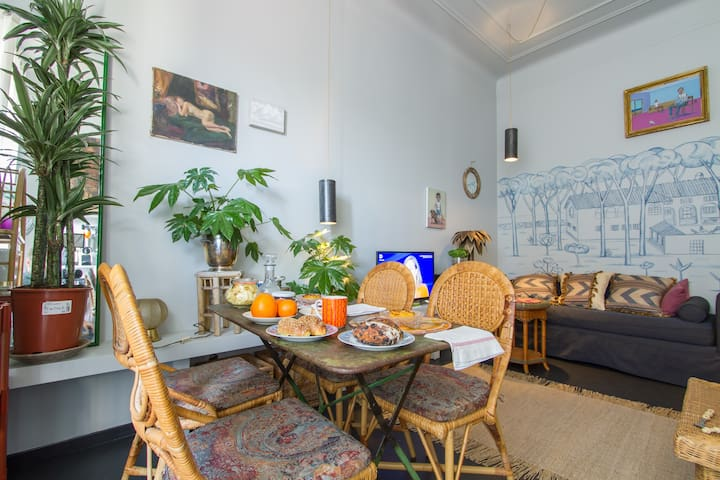 Central Station cozy Flat 3 stops from Duomo. wifi