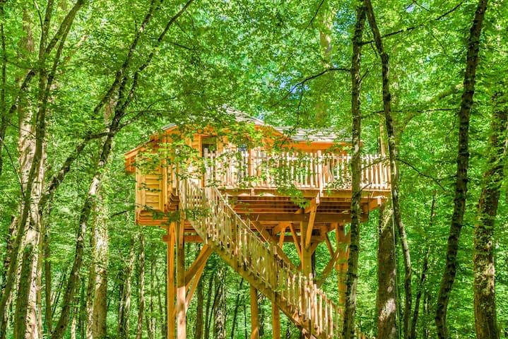 Cabane Spa Détente pour 2 personnes - Joncherey - Treehouse