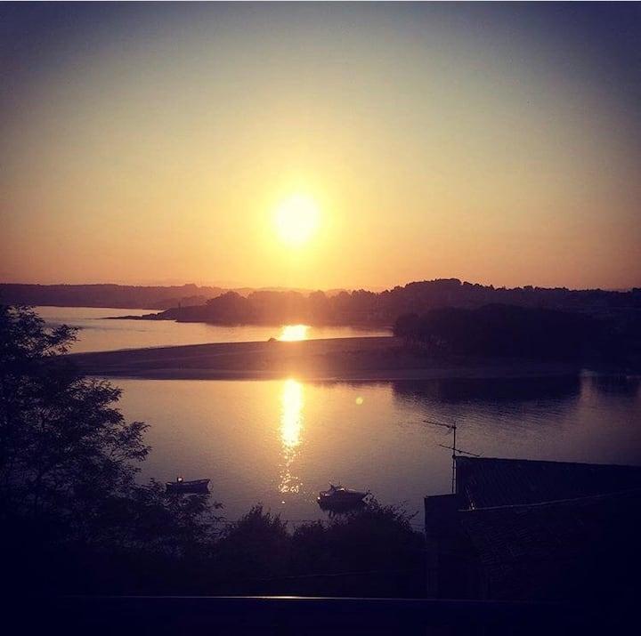 El mejor amanecer de la ciudad