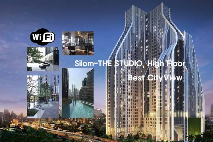 Silom-THE STUDIO, High Floor, Best City View