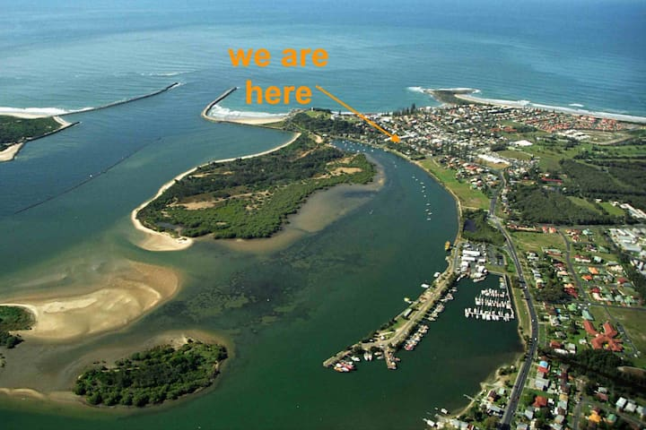 The seaside village of Yamba lies at the mouth of the mighty Clarence River and is the southern gateway to the Northern Rivers of NSW.
