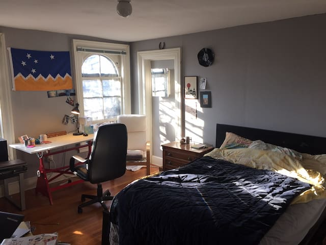 Sunny Penthouse Close to Yale - New Haven - Apartamento