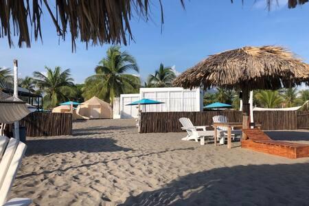 Boca del Cielo, Chiapas # Villa Chica. Beach-Front