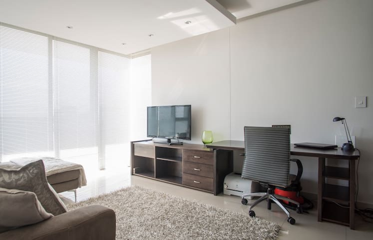 Sleek and Central Bachelor Flat - Southern Suburbs - Apartment