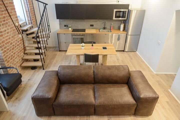 Newly-renovated Loft close to Med Uni Vienna