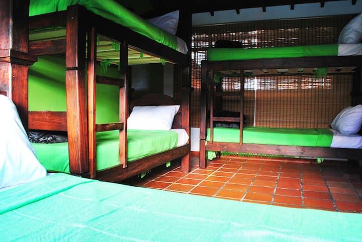 Habitación 6 camas/literas/camarotes -6 Bunks Beds