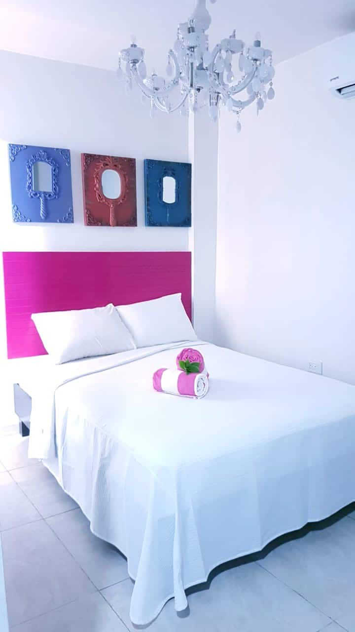 Cancun boutique bedroom mirage