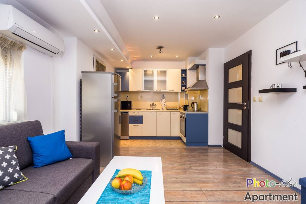 Photo-art apartment Kitchen area
