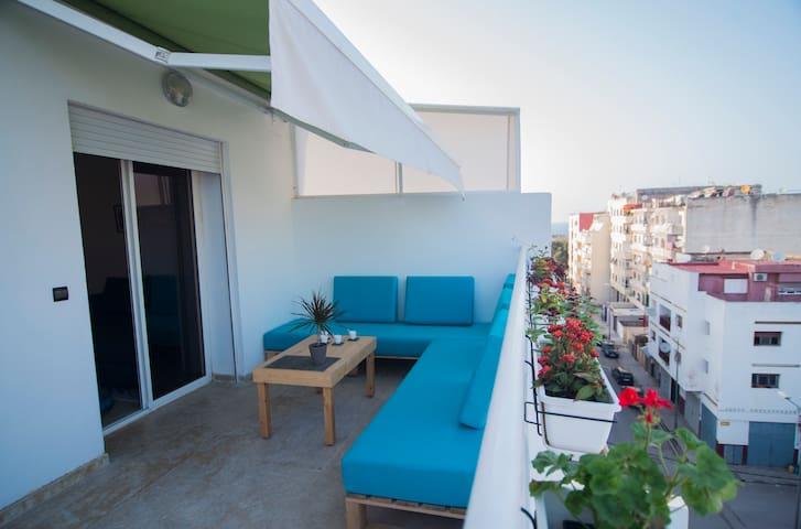 Belle vue sur Rabat avec terrasse