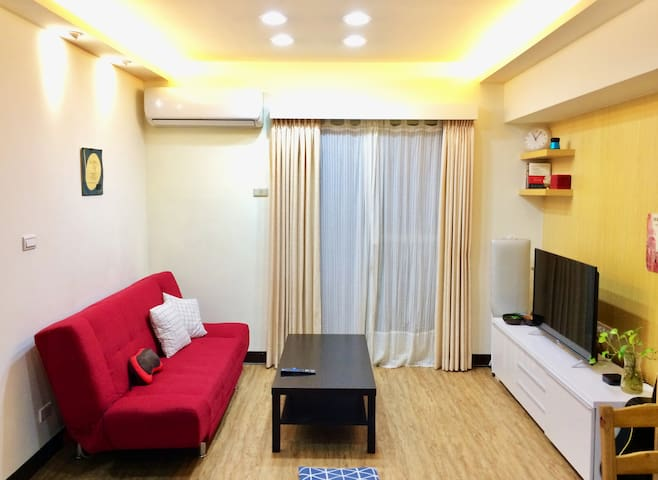 Cozy Whole House 20min to Taipei (lvrm, balc, kit)