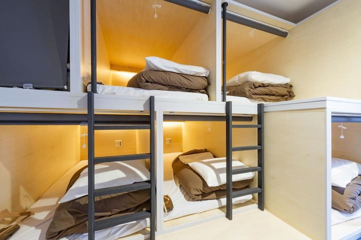 【8 minutes on foot from Kanda station】Male Dormitory Room・Free Wi-Fi