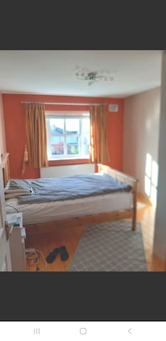 double bed private room townhouse with garden view