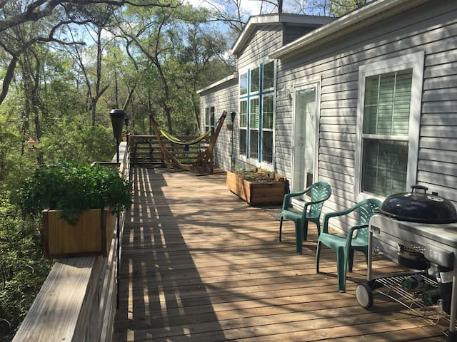 Suwannee River Seclusion - White Springs - Casa