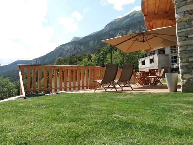 appartement 6 pers, chalet montagne