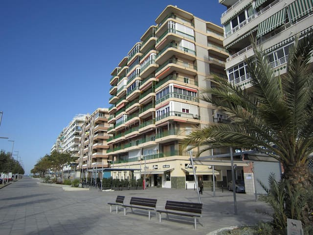 Apartment at seashore. Wonderful views Free Wifi - Santa Pola - Daire