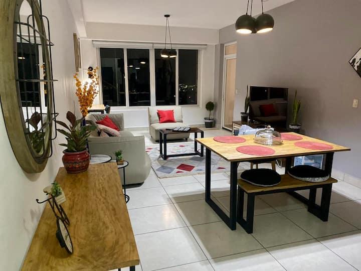 Apartamento con hermosa vista en La Escalón
