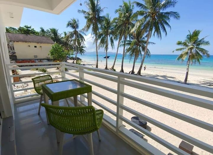 The Beach House Boracay, SeaView room for 4 people