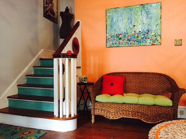 Two Suites in Artsy Historic Home - Phoenixville - Casa