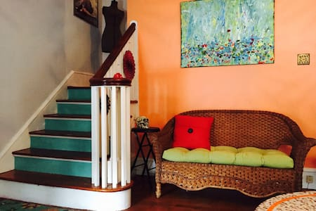 Two Suites in Artsy Historic Home - Phoenixville - Ház