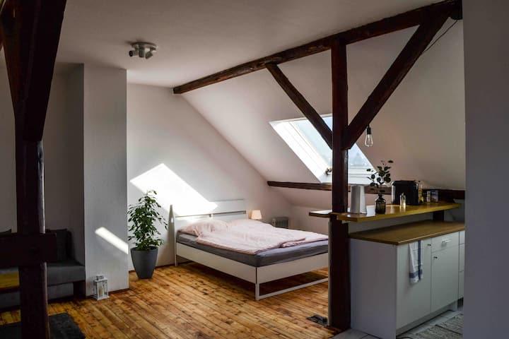Schöne Dachgeschosswohnung nahe Köln