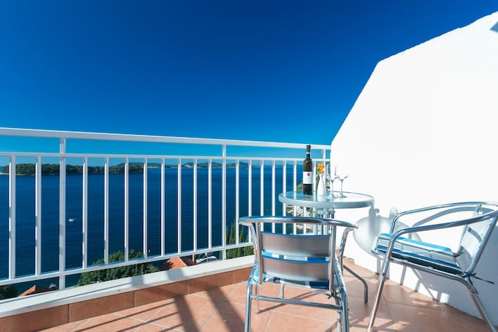 Charming sea view apartment 4 - Dubrovnik - Apartment