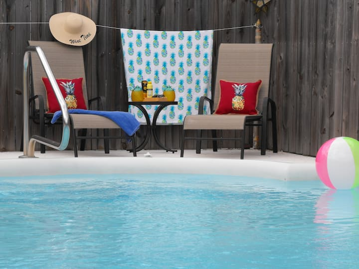 Vero Beach Solar Pool Home Private!