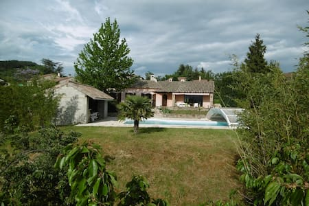 Chambre chez l'habitant dans villa à la campagne - Annonay