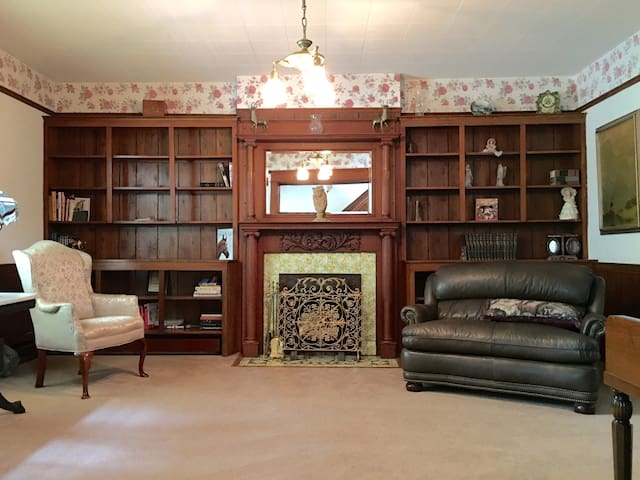 Enjoy the use of our 1890's reading parlor.