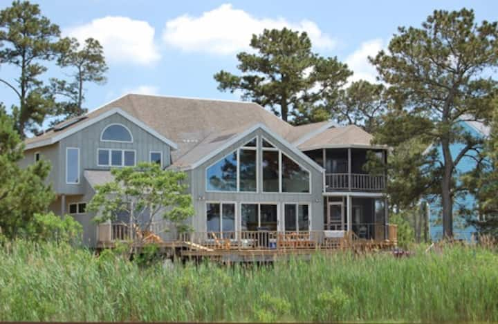 Sunsinger-Waterfront on Chincoteague Bay w/ Pier