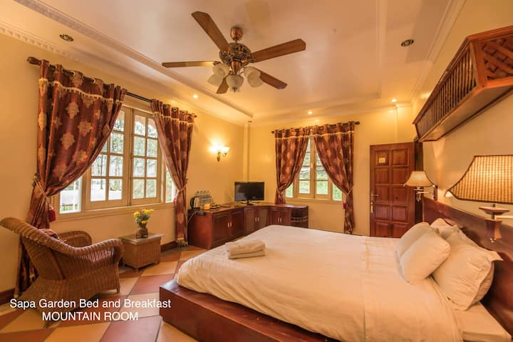 Sapa Garden Bed and Breakfast- Mountain Room