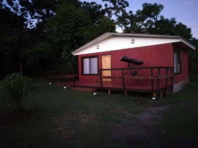 cabaña entrada principal