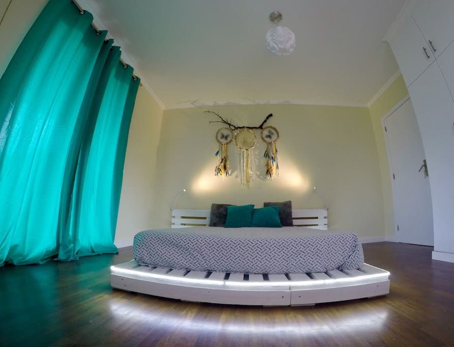 Dream Catcher Room. All furniture and decor is Eco Hand Made Stuff