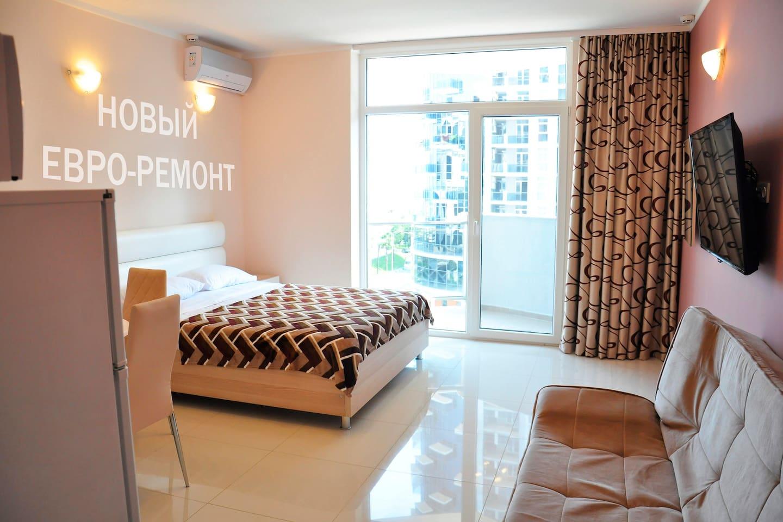 Общий вид апартаментов : Main view of apartments