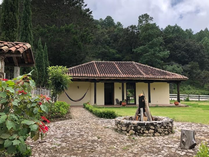 Cabaña, Rancho San Nicolás