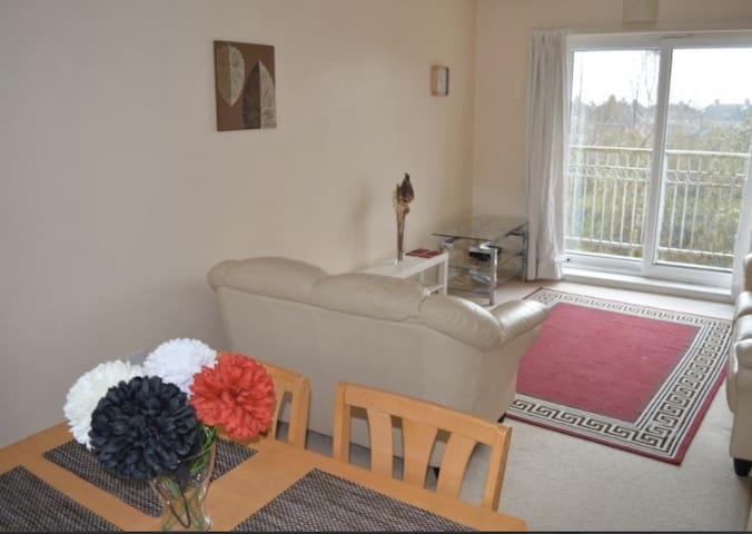 Modern central 2 bedroom flat - SINGLE ROOM - Coventry - Huoneisto