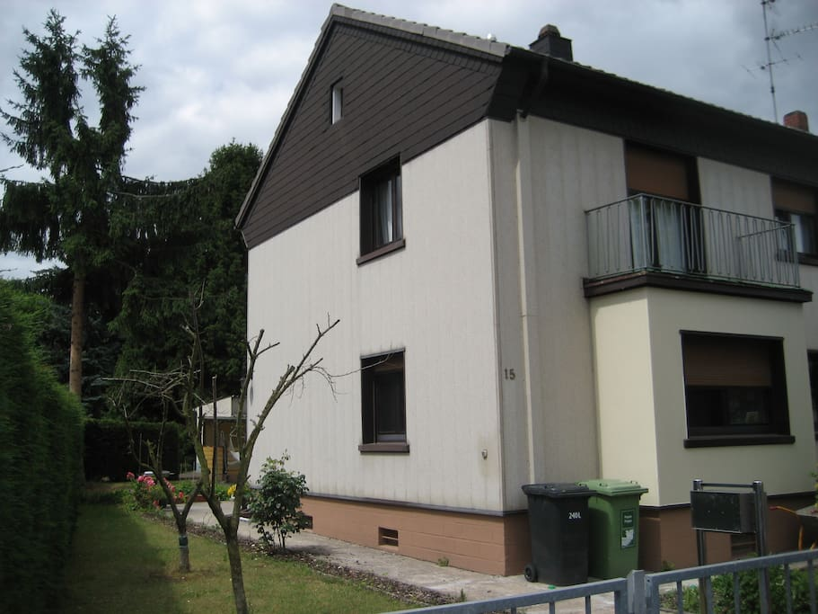 Haus, Erdgeschosswohnung