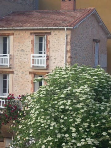 Maison de 1820 en pierres apparentes & son jardin - Vernet-les-Bains - House
