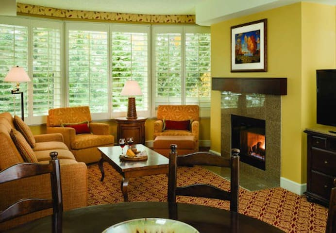 Marriott luxury apartment December