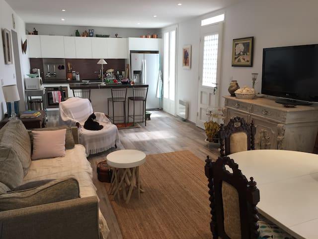 Appartement et jardin vue mer et port - Carry-le-Rouet - Haus