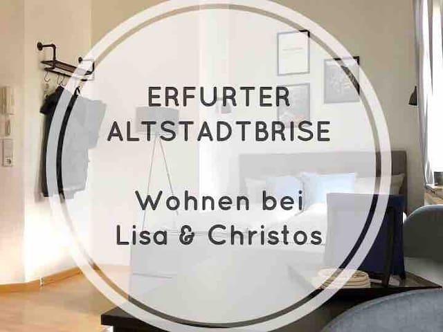 Erfurter Altstadtbrise_Wohnen bei Lisa & Christos