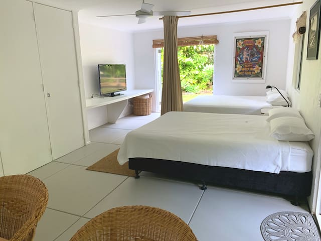 Spacious private bedroom