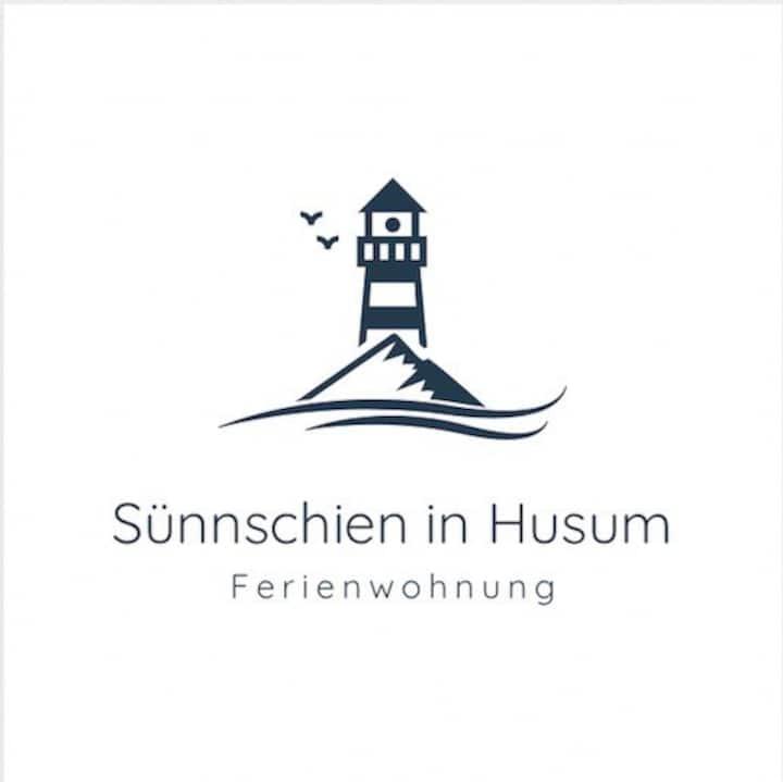Sünnschien in Husum (3 Zim. 73 qm, 8 qm Südbalkon)