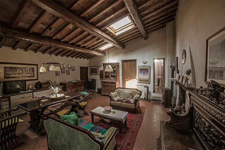 Historic Countryside Apartment - Bacchereto - Appartement