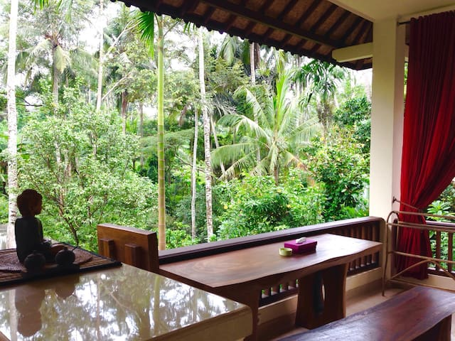 Ubud, jungle river sanctuary, relaxing holiday - Ubud - Apartment